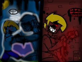 Beneath the Metal. (FNaF Halloween Special) by YaoiLover113
