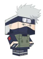 KAKASHI PAPERTOY by animepapertoys