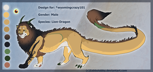 Design commission for Wyomingcrazy101 by ZabbyTabby
