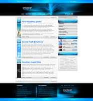 Spaceship Wordpress Theme by INSEKTart