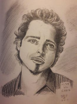 Chris Cornell by DoctorFantastic