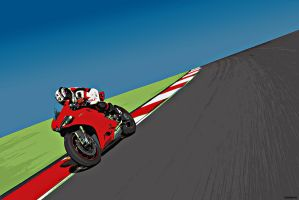 Ducati Panigale Vector by Samcro-33