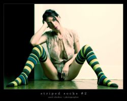 Striped Socks 2 by eyechart