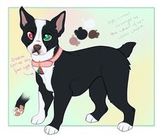 Boston Terrier Design Trade by Maonii