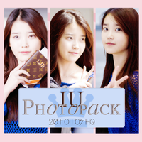 Photopack IU 003 by DiamondPhotopacks