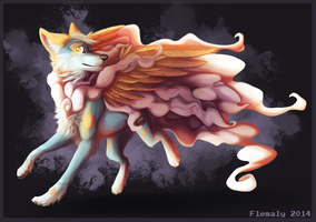 Four Paw Sky by Flemaly