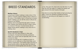Breed Book pg.6| BREED STANDARDS (3) by Aspen-Isles-Stable