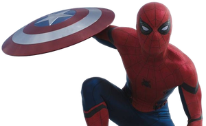 Civil War Spider-Man 2 - Transparent Background! by Camo-Flauge