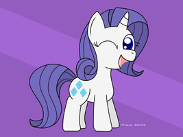 Filly Rarity by toonboy92484