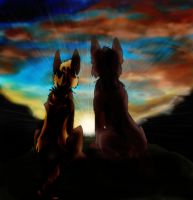 The King and his Lionheart. by Corithedog10