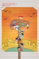 panjat pinang by deWhin by indonesia
