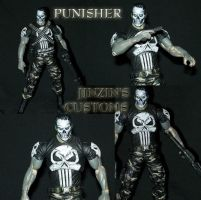 Custom figure Punisher by Jinzin1