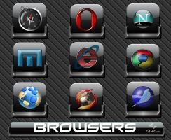 Browsers by 0dd0ne