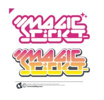 magic stickt logotypes by oxidizzy