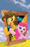 My Little Pony: Friends Forever #34 Cover by TonyFleecs