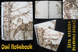 Wooden Notebook Fantasy by ChibiPyro