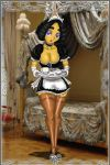 french maid danny by drago-flame