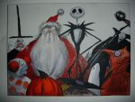 nightmare before christmas by BatPumpkin