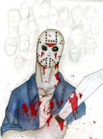 Jason: Welcome Home. Color by DeviantBoss