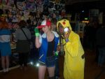 Ash and Pikachu by AverageCosplays