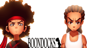 The Boondocks: Huey and Riley Freeman by JassyCoCo
