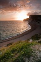Dorset Sunset 2. by Kapische