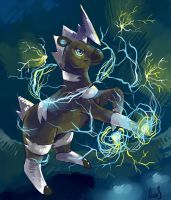 Shimama's Wild Bolt by Silverkiwi78