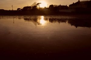 Paignton Sunset by Clangston
