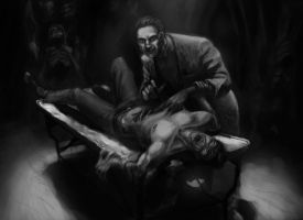Vampire The Masquerade RPG Scene 07 by Young-Wolf