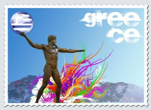 Greece stamp 2
