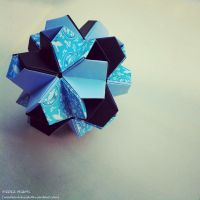 Modular Origami (Little Turtle) 1 by MadSoulChild