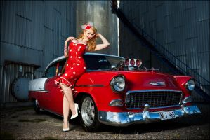 Hot rod Ellem by ladylucie