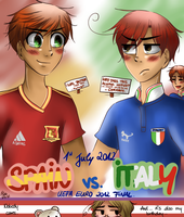 Uefa Euro 2012 Final. by TheGweny