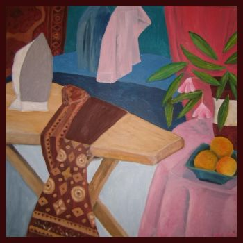 Ironing with Still Life by eos2102