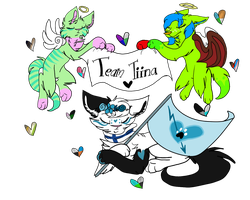Team Tiina by CandyGearz