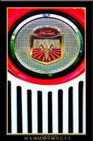 62 Ford Tractor Emblem by mahu54