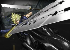 FF7 Cloud Strife by NatashaRazi