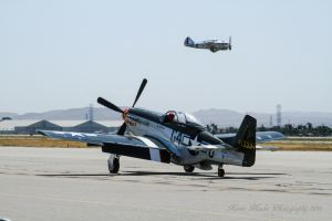 Wee Willy and AT-12 (P-35) by IntermissionNexus