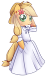 Wedding Dress - Applejack by Bukoya-Star