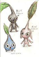 Pikmin Concepts by Protoeyesore