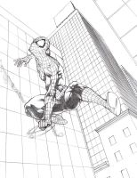 The Amazing Spider-Man - Classic - Pencils by pureluck13