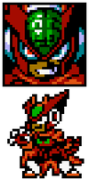 Mighty No.0 Sprites by hfbn2