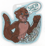 Shep Badge by Onai-WolfWind