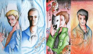 The Four Archangels by whenyoubelieve17
