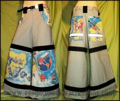 Transformers Raver Pants by RedheadThePirate