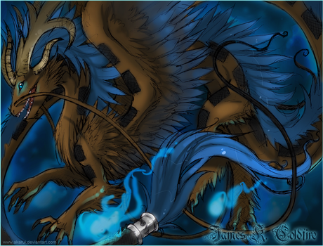 Coldfire: Dragon Form Update by akarui