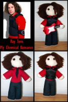 Ray Toro Plushie by Didaverseend