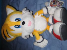 Sonic Adventure Tails plushie by sonic-fan-guy