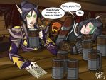Brewfest: Velieste and Biyorne by Kynathel