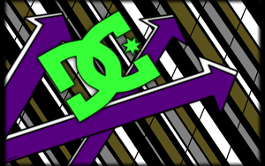 DC Shoes Inspired Desktop by CatNCobra